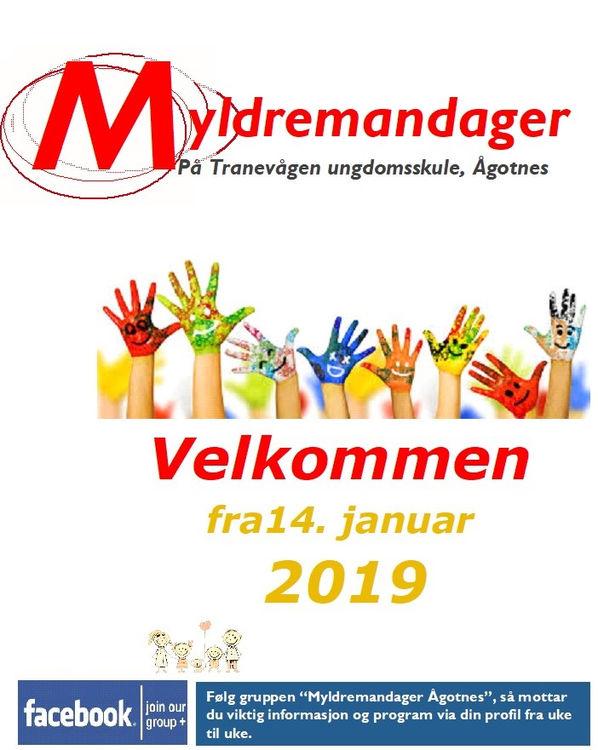 Myldremandag starter opp 14. januar
