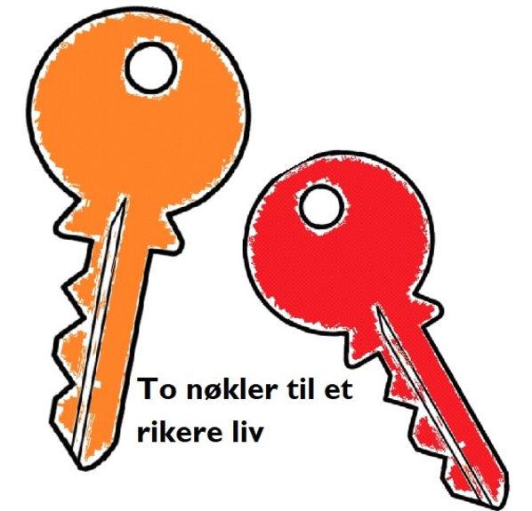 To nøkler til et rikere liv